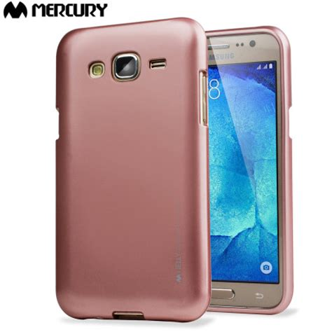 Samsung J5 2016 I Jelly Metal Gold Goospery Soft Cover mercury goospery ijelly samsung galaxy j5 2015 gel