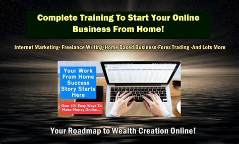 Online Business Work From Home Opportunity - the best work from home selected business opportunities