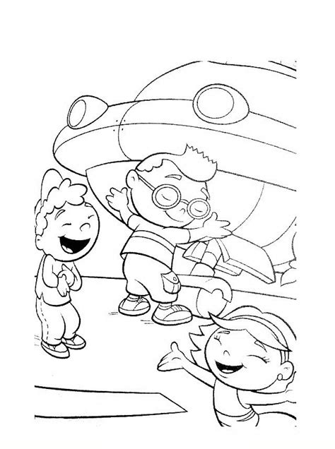 dibujos para colorear de little einsteins adisney little einsteins adisney