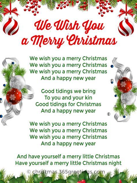 list  christmas carols christmas celebration   christmas