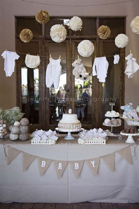 Gender Neutral Baby Shower Decoration Ideas by 22 Low Cost Diy Decorating Ideas For Baby Shower