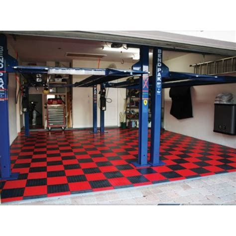 RaceDeck CircleTrac Garage Floor Tile   12""