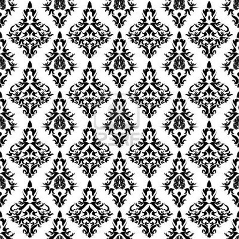 seamless pattern techniques vintage wallpaper seamless pattern vintage damaskvector