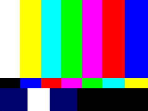 color test transatlantic television traumas social