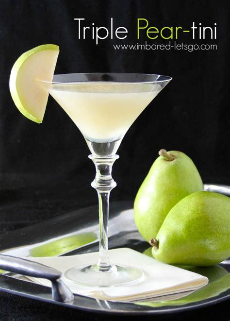 martini pear triple pear tini recipe looking forward vodka and
