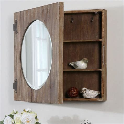 rustic medicine cabinets for the bathroom 143 home storage and organization ideas room by room