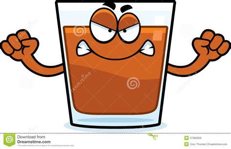 glass cartoon angry cartoon shot glass stock vector image 47360556