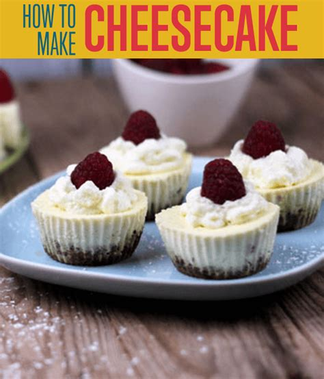 how to make cheesecake best dessert recipes diy ready