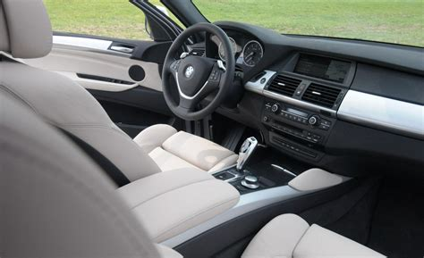 X6 Interior by Car And Driver