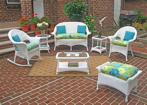 veranda outdoor furniture wicker white high back veranda outdoor wicker patio