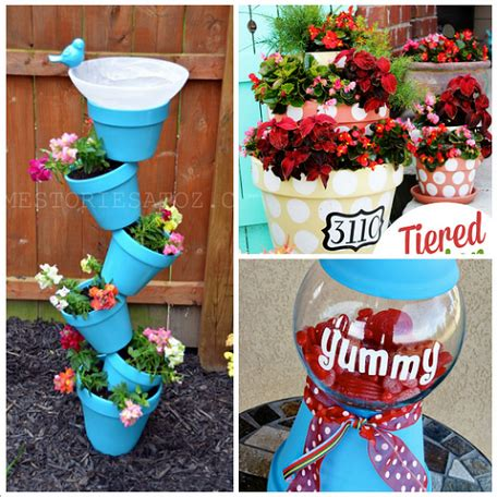 Awesome Patio Ideas Creative Clay Pot Crafts And Projects Crafty Morning