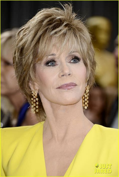 fonda hairstyle 2013 jane fonda arrives on the red carpet at the 2013 academy