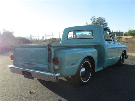 short bed truck cer 1967 chevy c10 short bed step side truck original paint