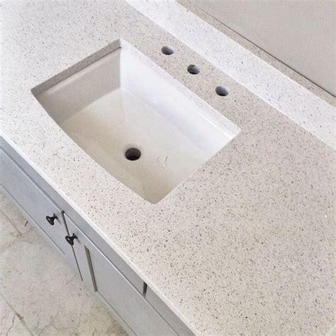 Stellar Countertop by Stellar Snow Quartz Countertop Home Depot Bathroom