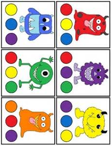 monsters colors 25 best ideas about color activities on
