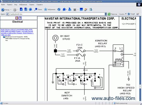 international truck repair manuals wiring