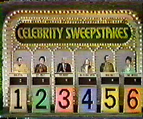 Sweepstakes Wiki - celebrity sweepstakes game shows wiki