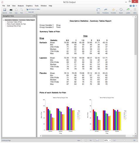 best data analysis software survey data analysis software summary statistics ncss