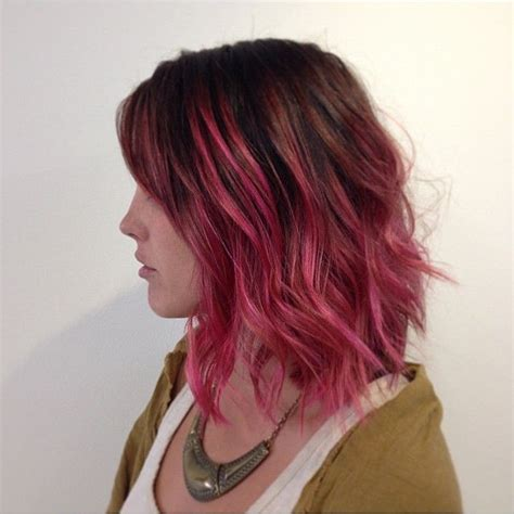 Hair Style Look By Pink by 17 Best Ideas About Pink Hair On
