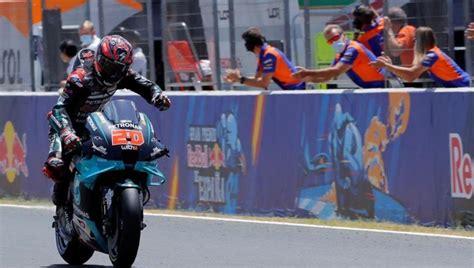 motogp enduelues grand prixsini quartararo kazandi