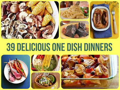 39 delicious one dish dinners