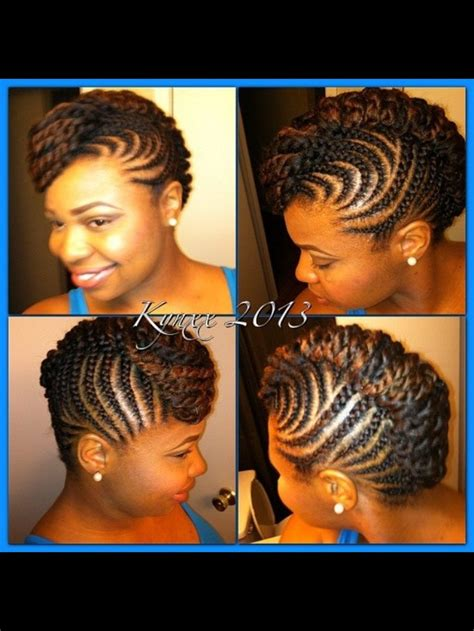 updo protective transitioning mohawk natural hair styles hair styles natural hair
