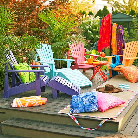 colorful patio furniture color canopy outdoor decorations