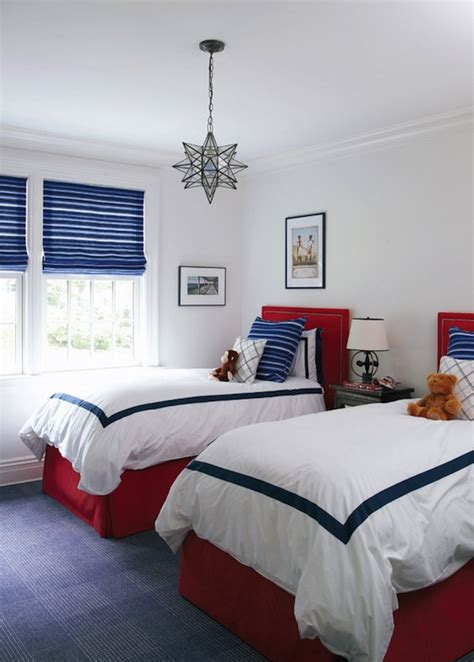 boys blue and red bedroom red and blue boys room traditional boy s room muse