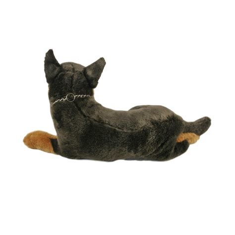 kelpie dog lying soft plush toy parker cm stuffed