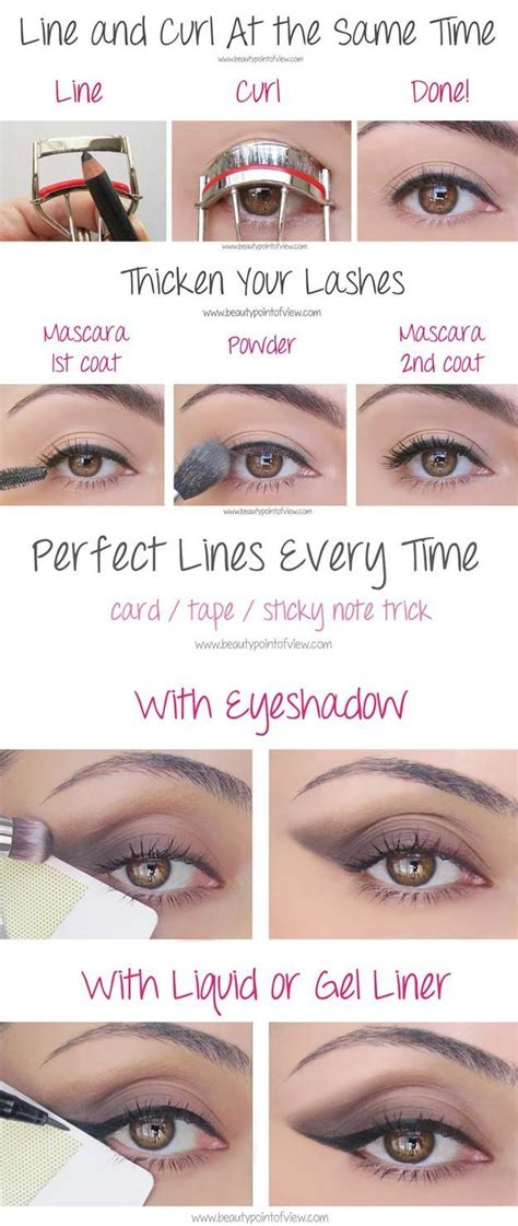 Eyeshadow Hacks 25 best ideas about makeup tips on makeup
