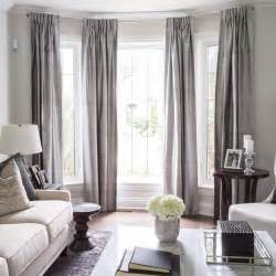 drapes on window 25 best ideas about bay window treatments on