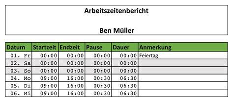 Kostenlose Vorlage Arbeitszeit Zeiterfassung Mit Excel 8 Kostenlose Stundenzettel Vorlagen Eomagis
