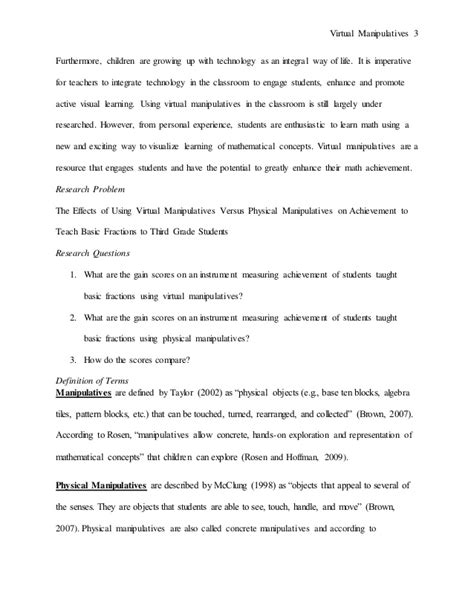 math anxiety research paper research paper on manipulatives in the math classroom