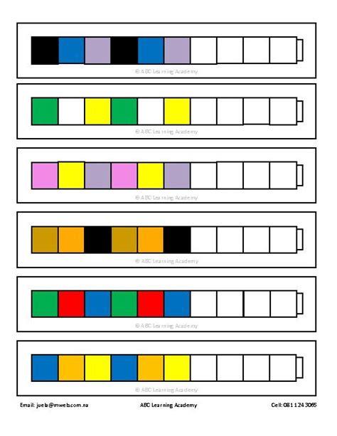 unifix pattern worksheet 10 best images of blank unifix cube patterns unifix cube