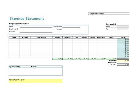 best photos of trip expense report template printable