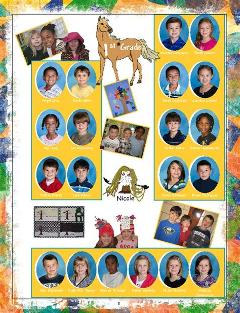 story themes for elementary yearbook page ideas google search yearbook pinterest