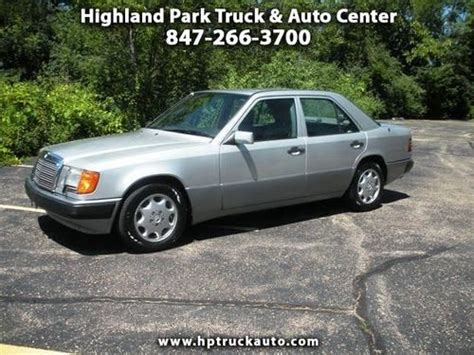 buy car manuals 1992 mercedes benz 300e parking system find used 1992 mercedes benz 400e e320 e300 300e w124 no reserve in highland park illinois