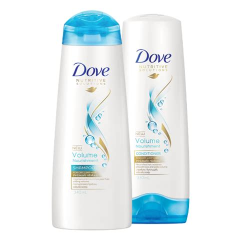 Shoo Dove Volume Nourishment dove volume nourishment shoo