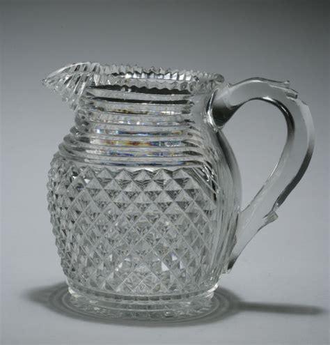 antique cut glass water jug richard gardner antiques