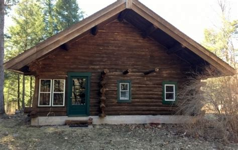 Log Cabins In Wisconsin For Sale wisconsin log cabin for sale on 13 acres on the peshtigo