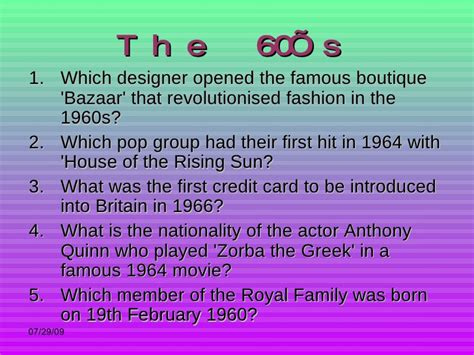 film quiz of the noughties 1960s trivia printable dogs cuteness daily quotes about