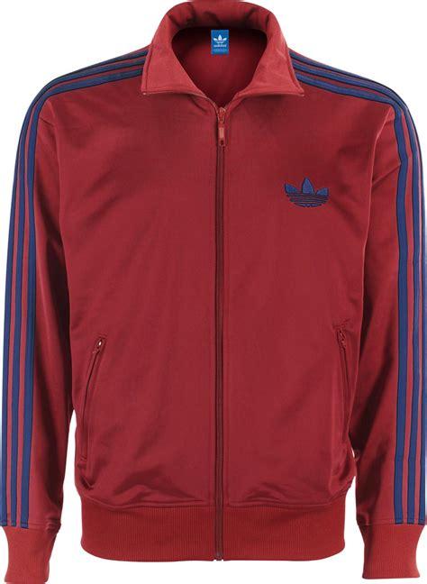 Jaket Adidas Firebird 3 adidas firebird tt jas rood blauw
