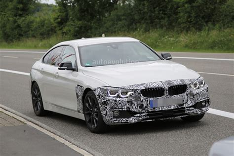 bmw headlights 3 series spyshots 2018 bmw 4 series gran coupe facelift has 7