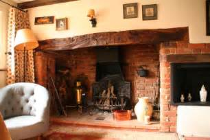 Inglenook Fireplace Inglenook Fireplace On Border Oak Log Burner