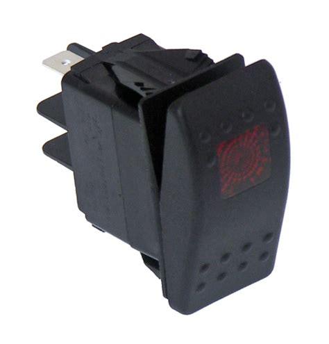 havis products  sw  black paddle type rocker switch led pilot light  amps  volt
