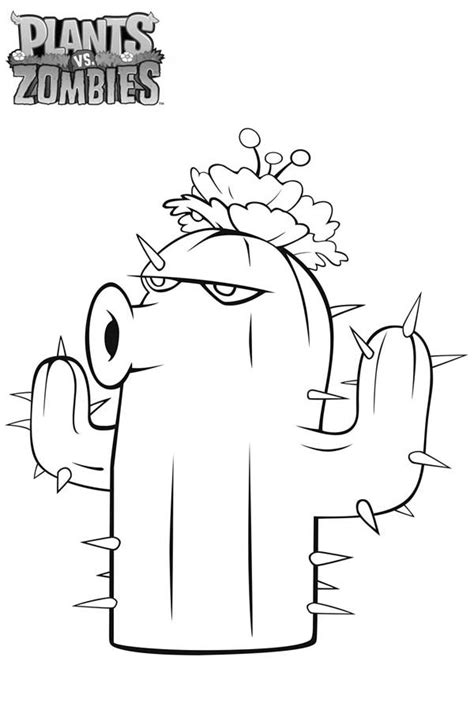 plants vs zombies doctor zomboss free colouring pages