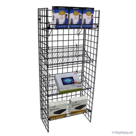 grid rack grid shelf display wire rack display shelf