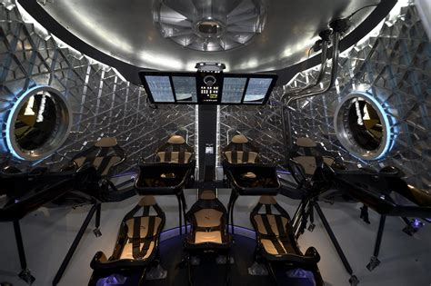 Dragon Interior Dragon V2 Capsule From Spacex Is First Entry In Race To