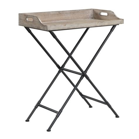 Foldable Bar Table by Folding Serving Bar Table In Black 227677