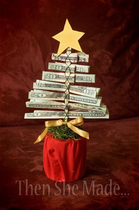 how to make a gift card tree make a gift money tree